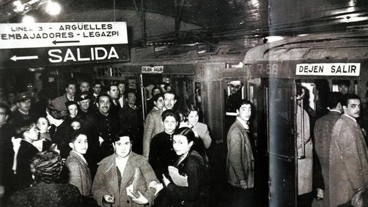 Metro de Madrid, en sus inicios