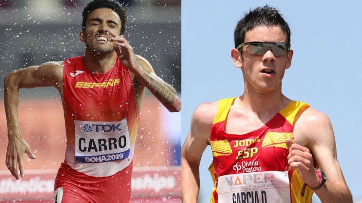 """Carro y Diego García: """"Tenemos que aprender de Doha para Tokio """""""