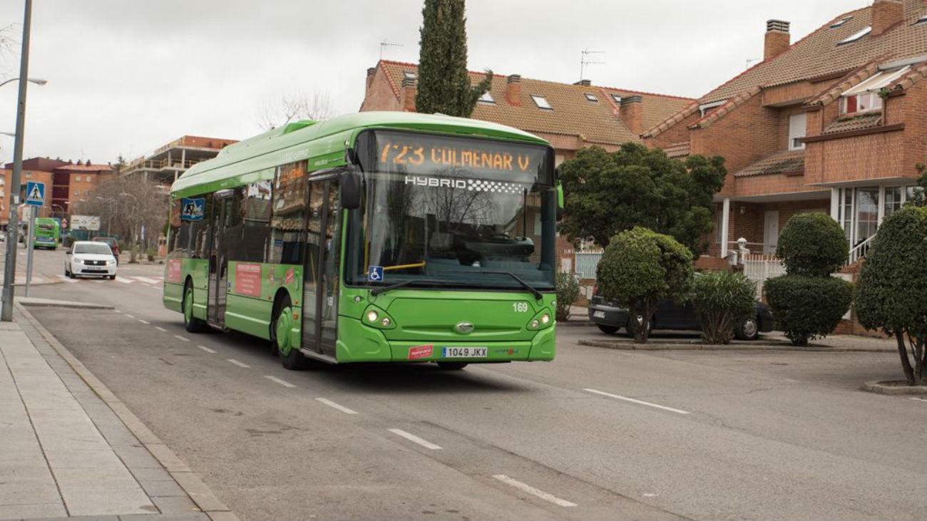 Autobús 723 de Colmenar Viejo