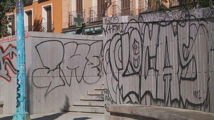 Madrid endurecerá las sanciones contra las pintadas vandálicas