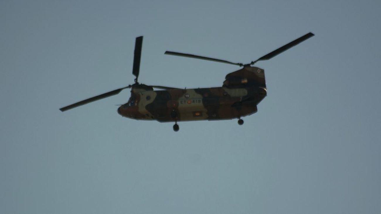 El susto de todos los años en Madrid: los aviones militares ya ensayan de cara al 12 de octubre