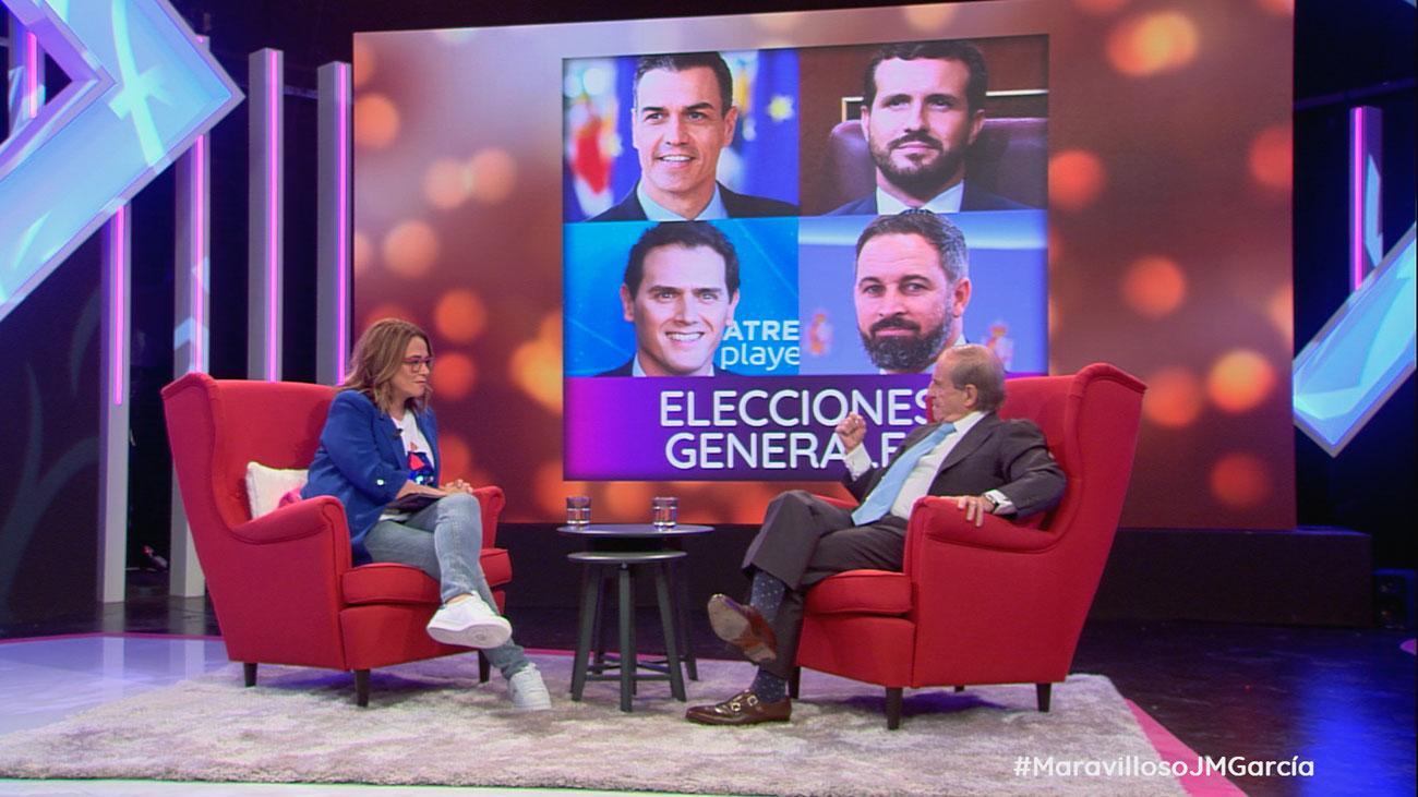 """José María García: """"Tenemos unos políticos mediocres, pero ellos no tienen la culpa"""""""