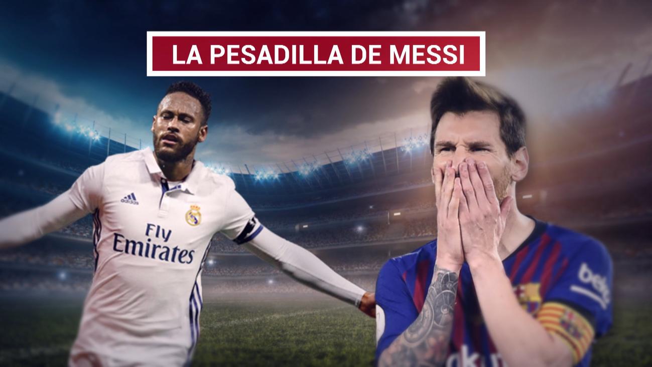 """Messi: """"Pensé que Neymar se iría al Madrid si no venía al Barça"""""""