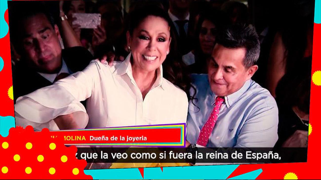 Una joyera reclama a Isabel Pantoja y Mayte Zaldívar el dinero de unas joyas que nadie pagó