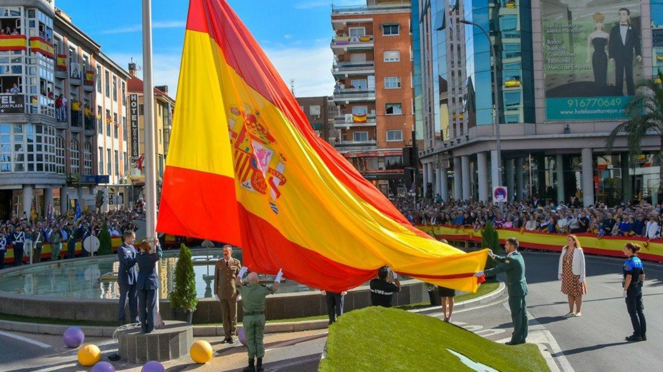 Homenaje a la Bandera en Torrejón