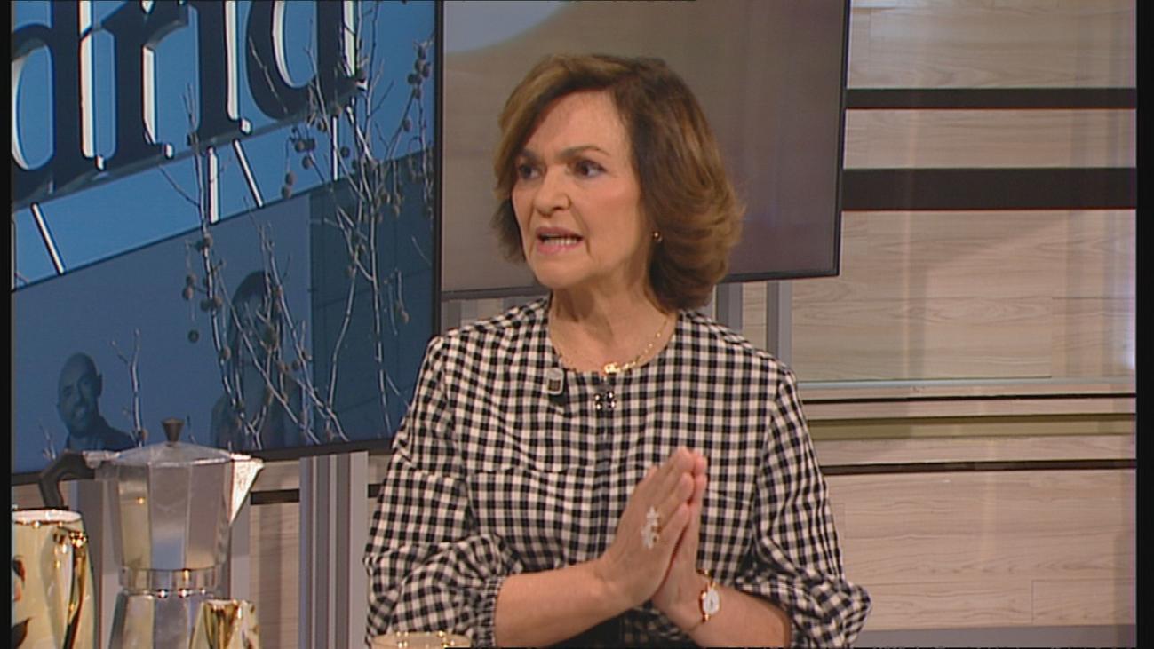 """Carmen Calvo: """"Queremos gobernar con nuestras propias fuerzas y que las derechas no bloqueen"""""""