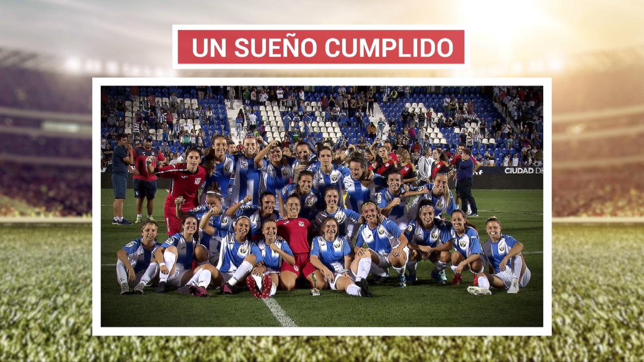 Butarque vive un partido histórico entre el Leganés y el Rayo Femenino