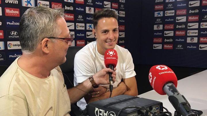 """Arias: """"Siempre he querido quedarme en el Atlético y ganarme el puesto"""""""