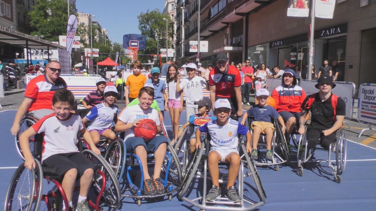 El deporte inclusivo, protagonista del Día del Deporte de Madrid