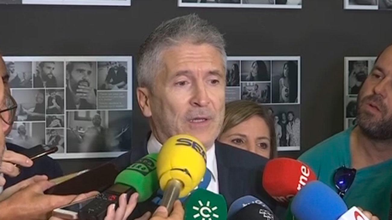 """Marlaska resalta que la relación con los Mossos d'Esquadra es """"inmejorable"""""""