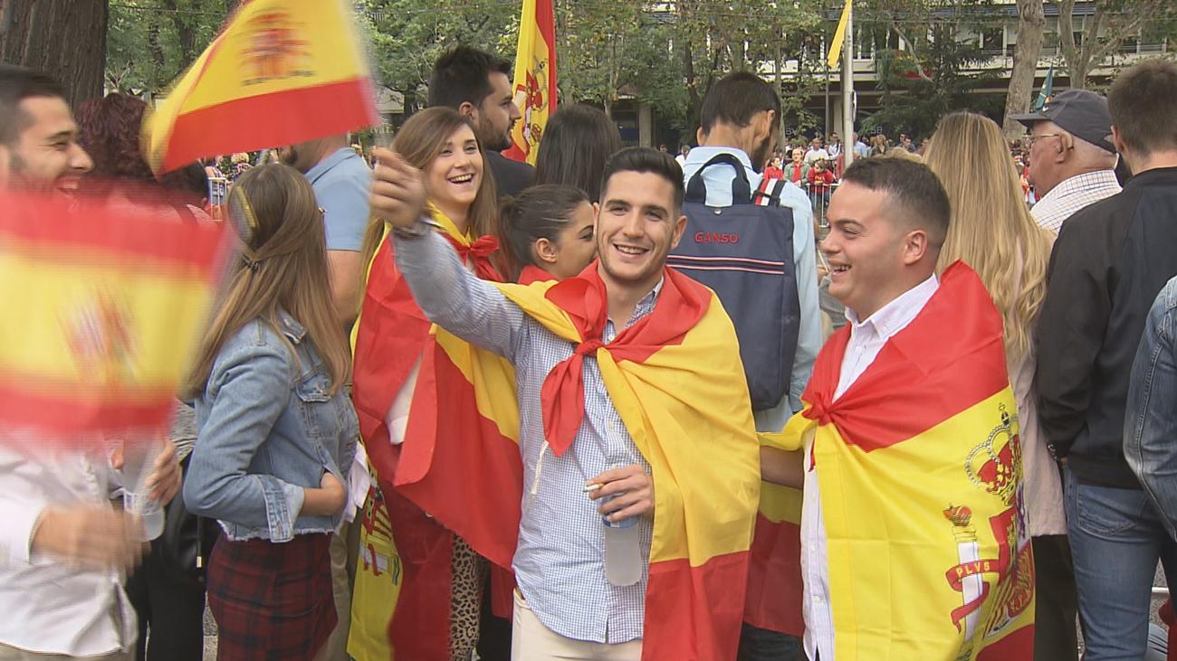 Los madrileños, los protagonistas del Día de la Fiesta Nacional
