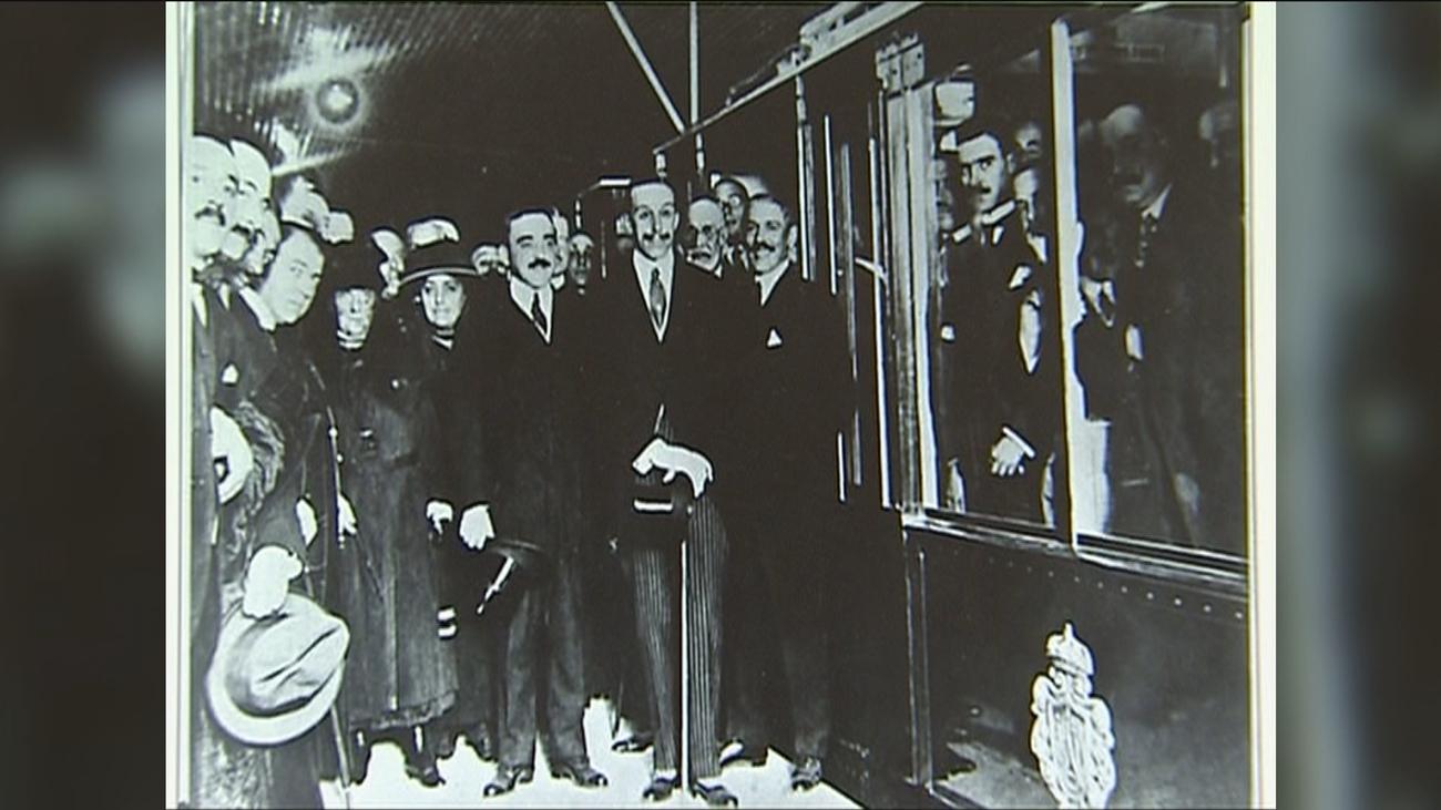 Paseo por los andenes del metro de Madrid de 1919