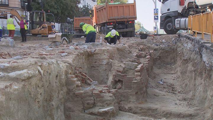 La Comunidad  conservará 'in situ'  los restos del palacio de Godoy