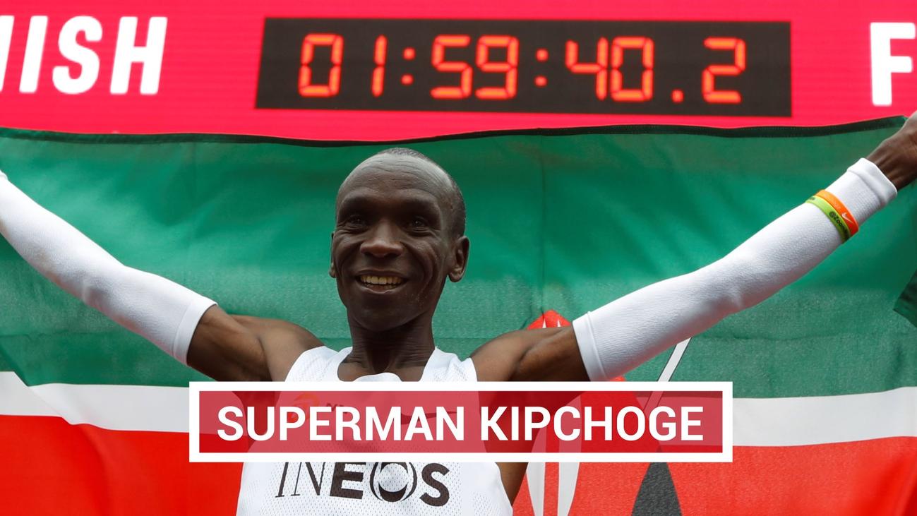 Eliud Kipchoge, el maratoniano más rápido de la historia