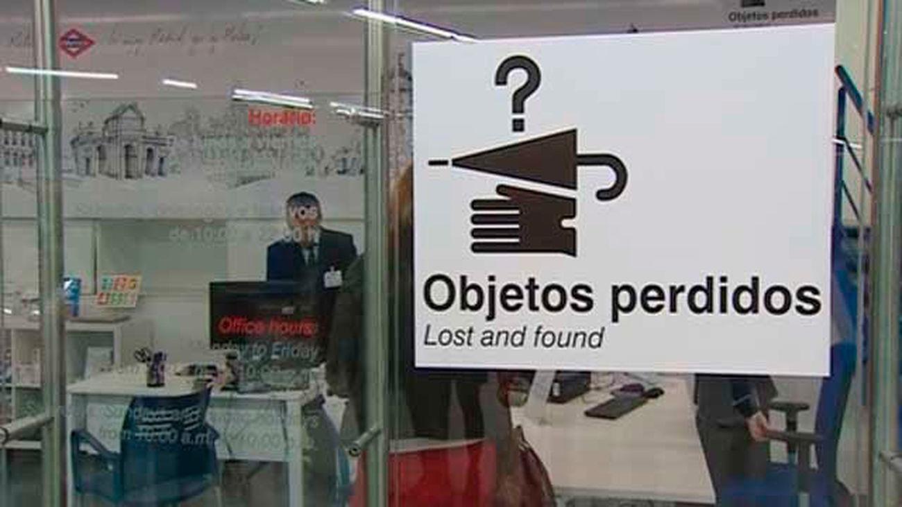 Cerca de 50.000 objetos se pierden cada año en el Metro de Madrid
