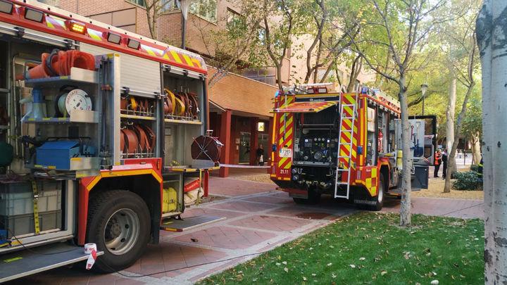 Un incendio en un restaurante en Tres Cantos obliga al desalojo de la zona