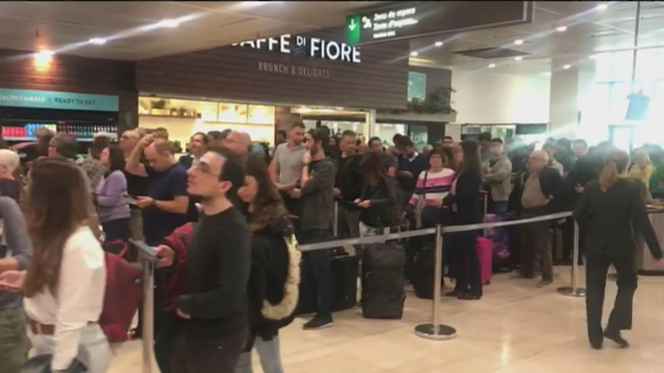 Colapso en la estación de Sants de Barcelona tras un sabotaje a un AVE