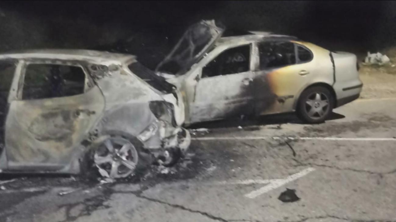"""Denuncian la quema de coches en San Martín de la Vega por """"envidia"""" y """"venganza"""""""