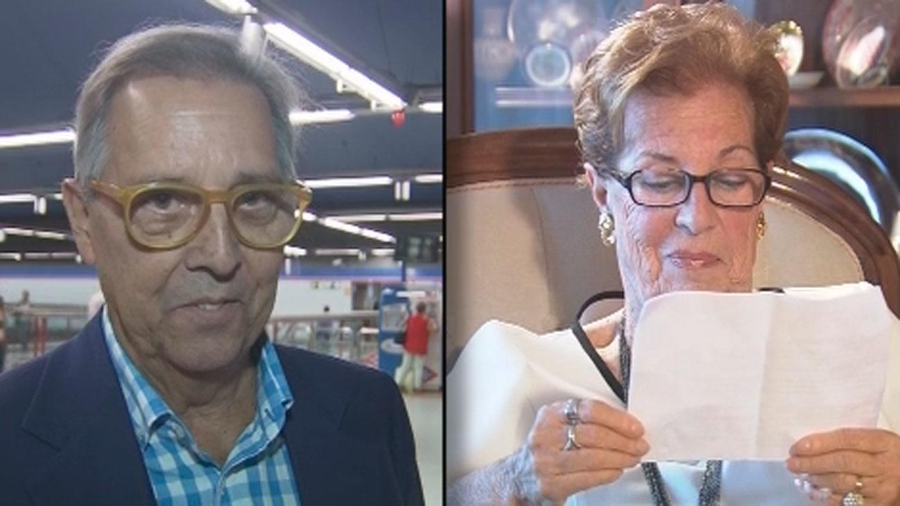 Javier y María Jesús, las voces de la megafonía del metro de Madrid