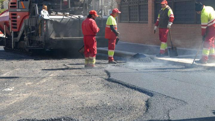 Majadahonda pone en marcha la mayor operación asfaltado de su historia