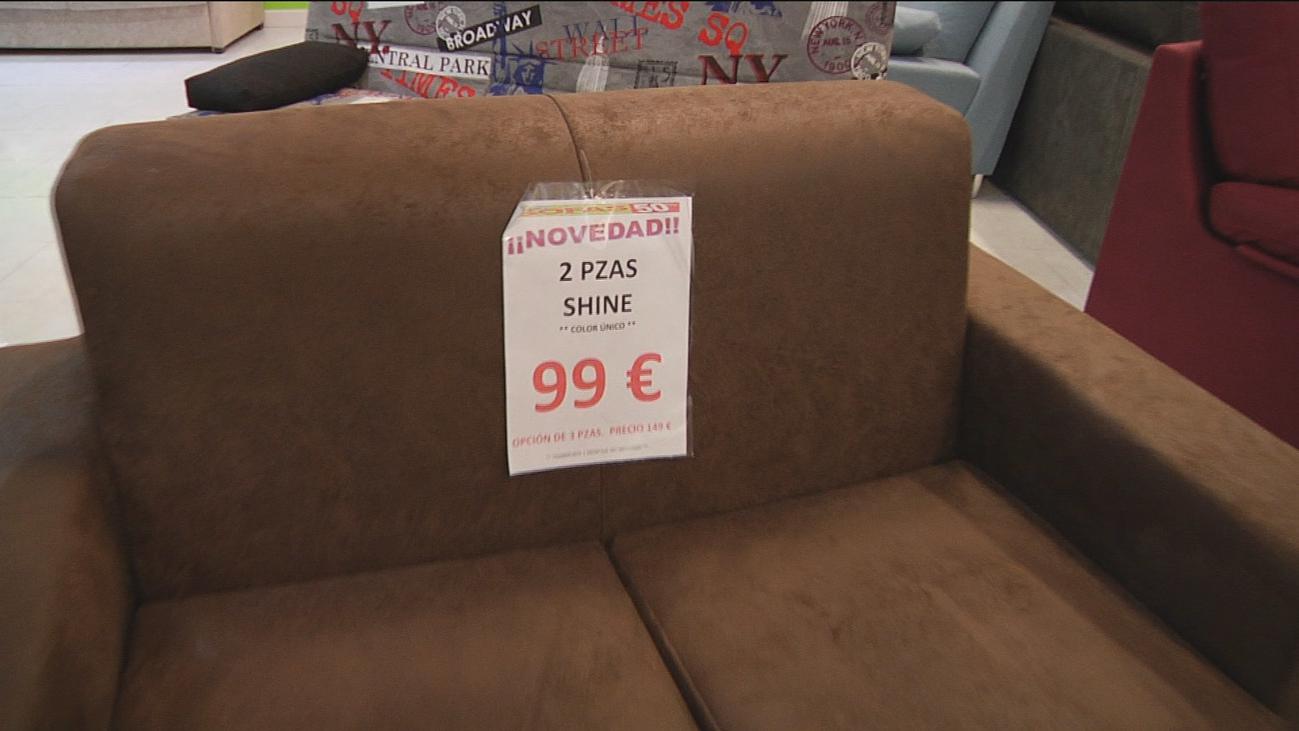 Sofás a precios de chollo en Fuenlabrada