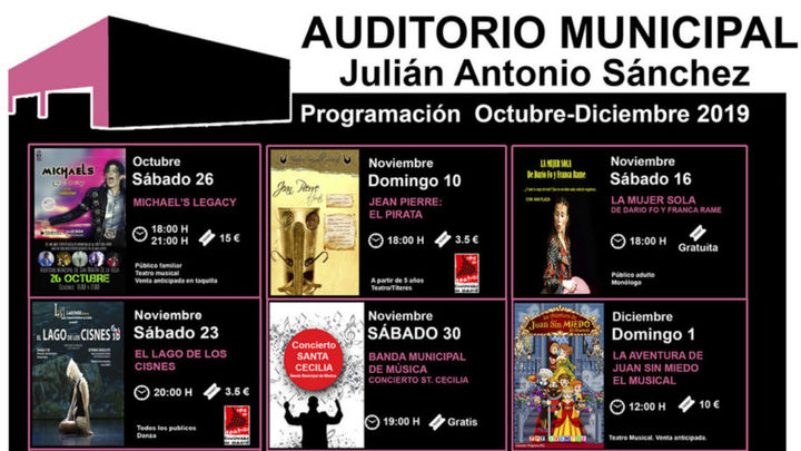 Llega la nueva temporada de + cultura! a San Martín de la Vega