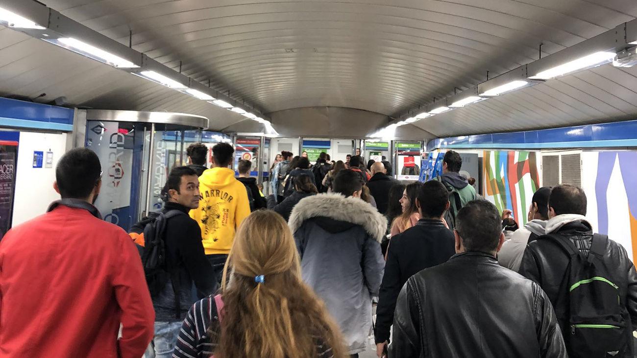 Normalizada la circulación en la Línea 1 de Metro entre Iglesia y Portazgo