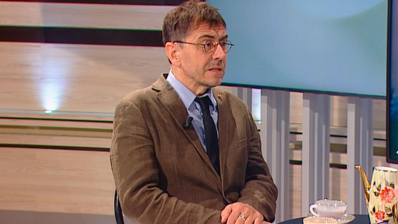 """Monedero: """"Creo en una España federal donde el país catalán tenga su espacio"""""""