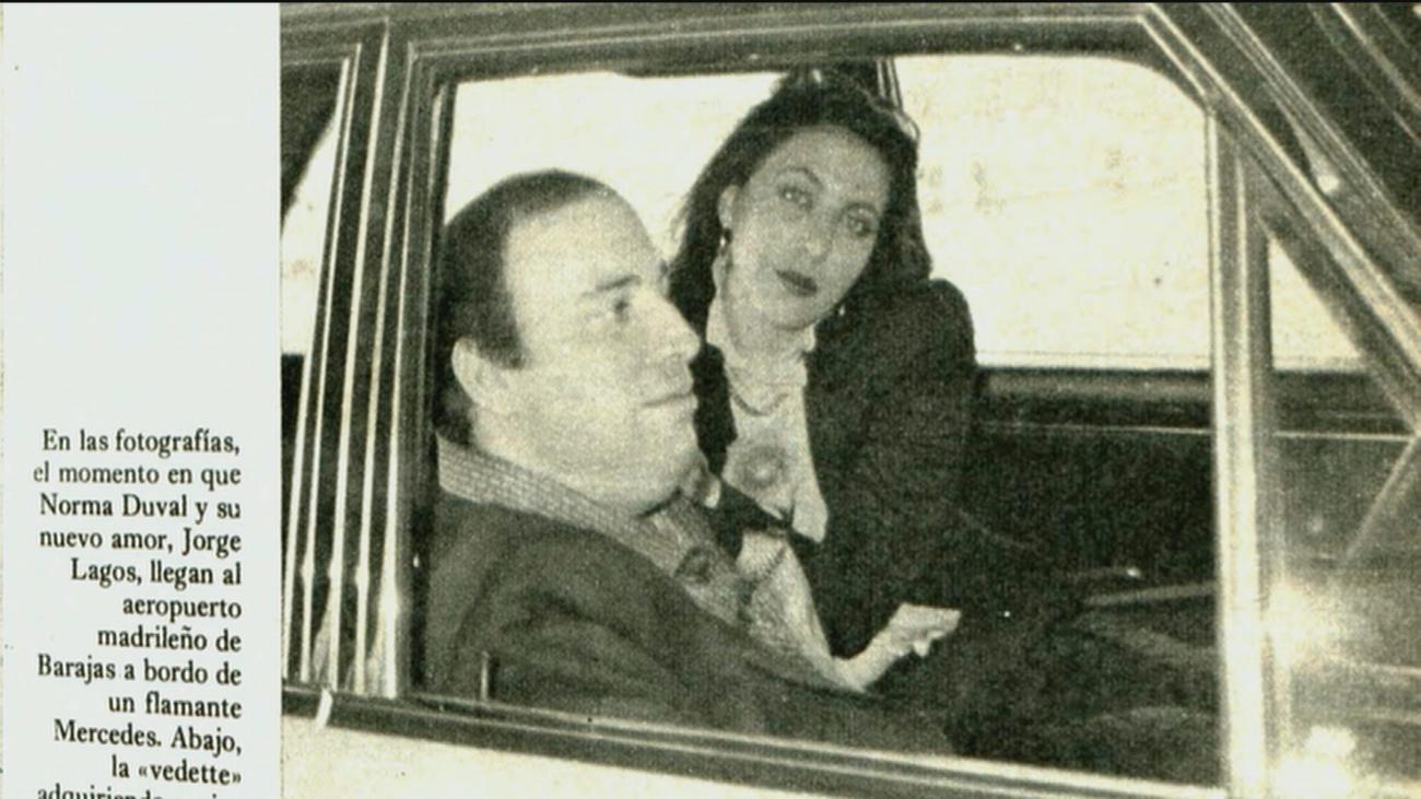 Norma Duval vivió una guerra de denuncias con la familia de su novio en 1981