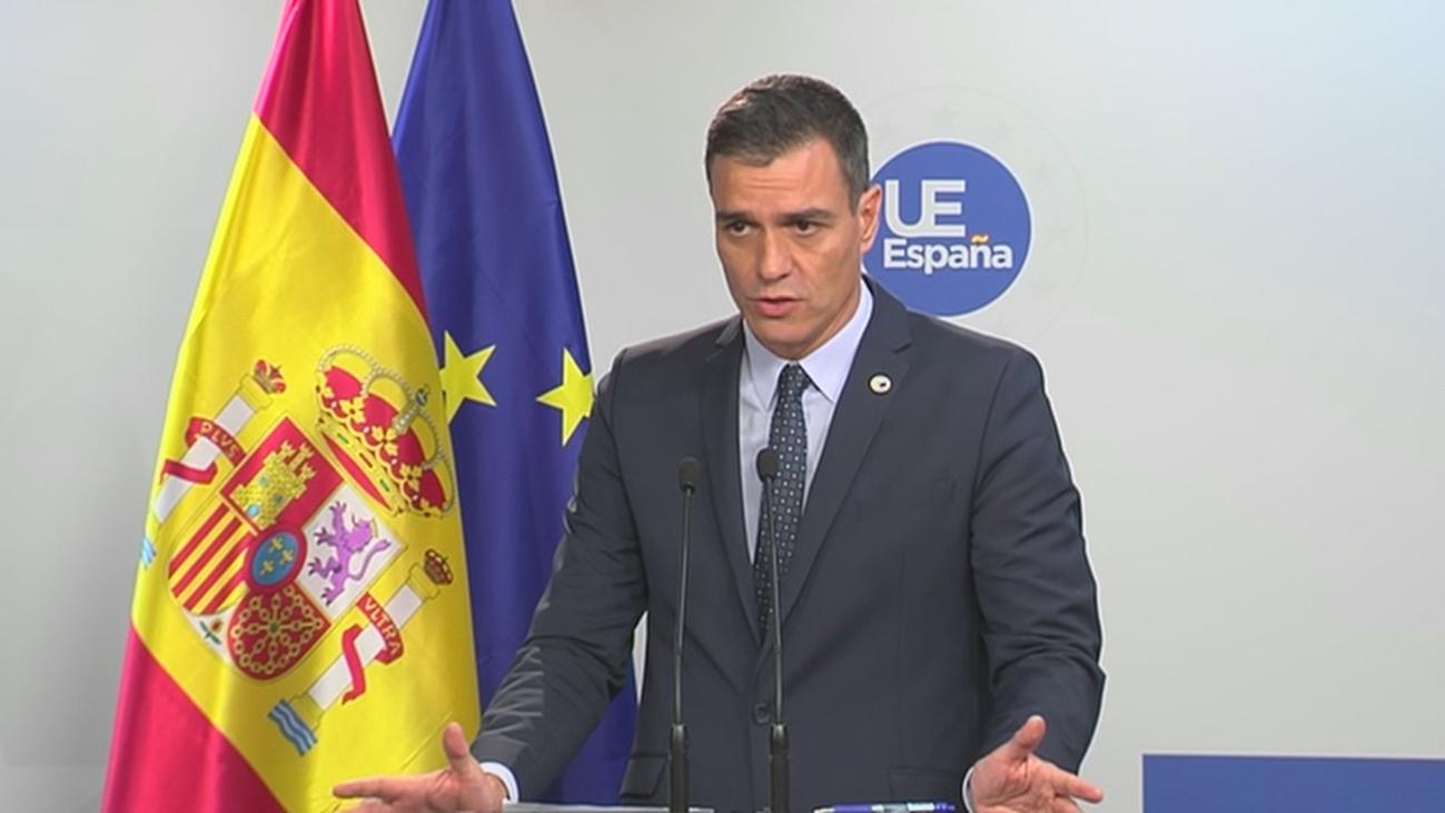 """Sánchez avisa de que """"no habrá ningún espacio para la impunidad"""" ante la violencia"""