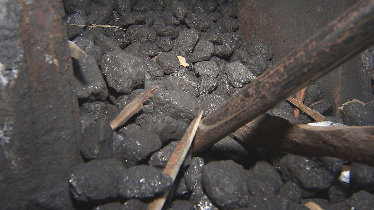 Caldera de carbón