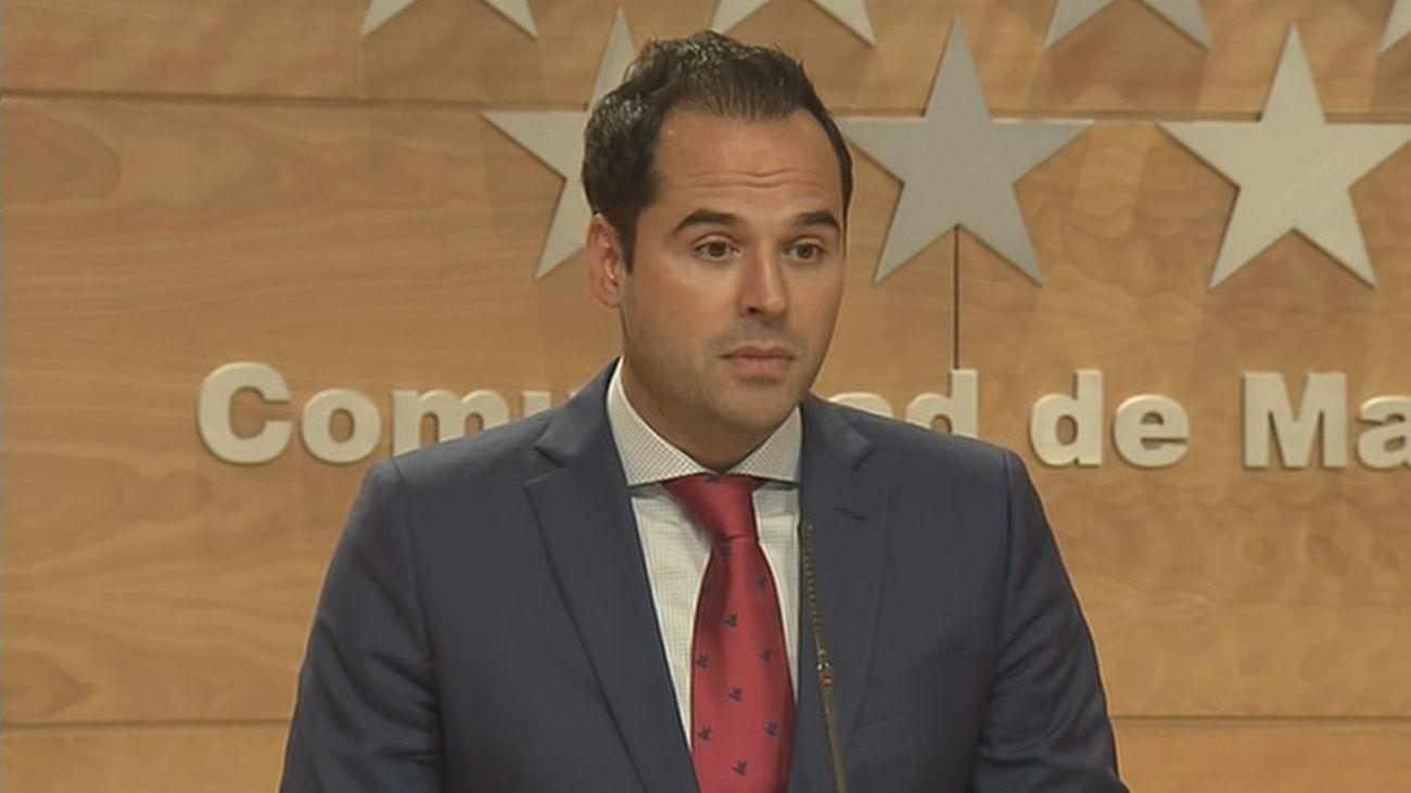 Ignacio Aguado en la Asamblea