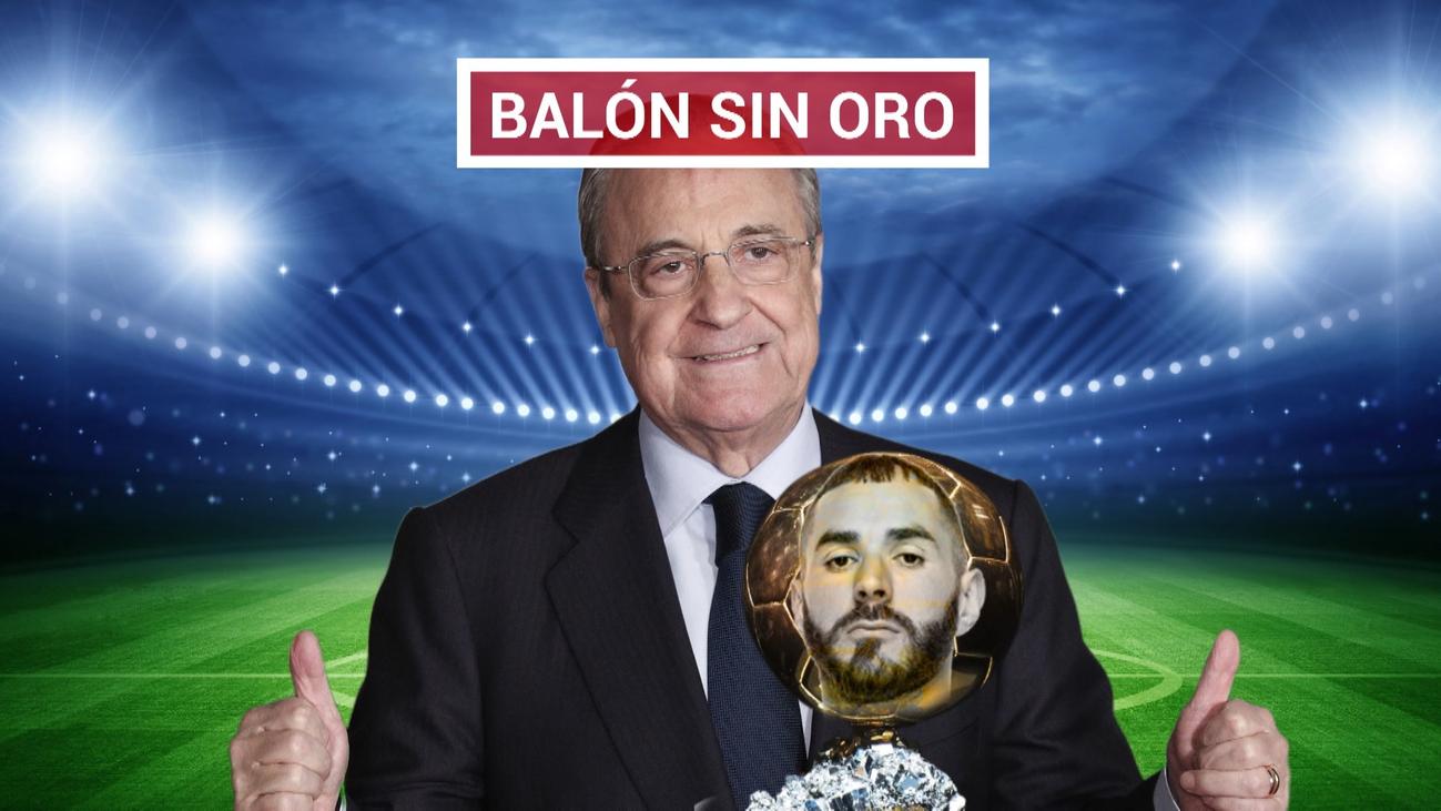 Benzema, único nominado al Balón de Oro