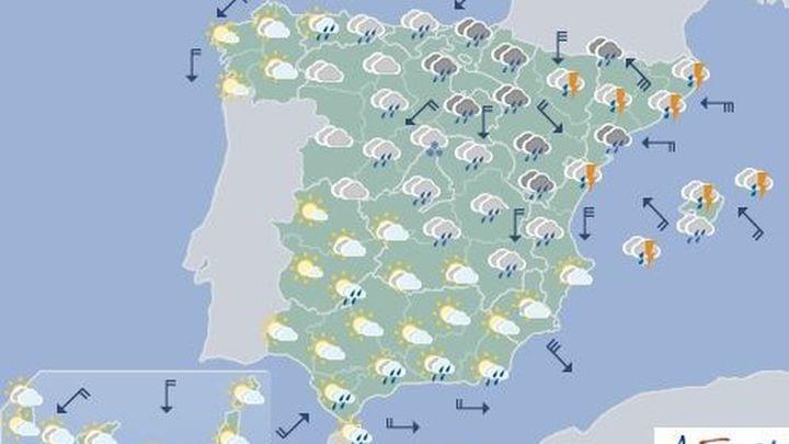 Una nueva DANA trae frío y lluvias a Madrid