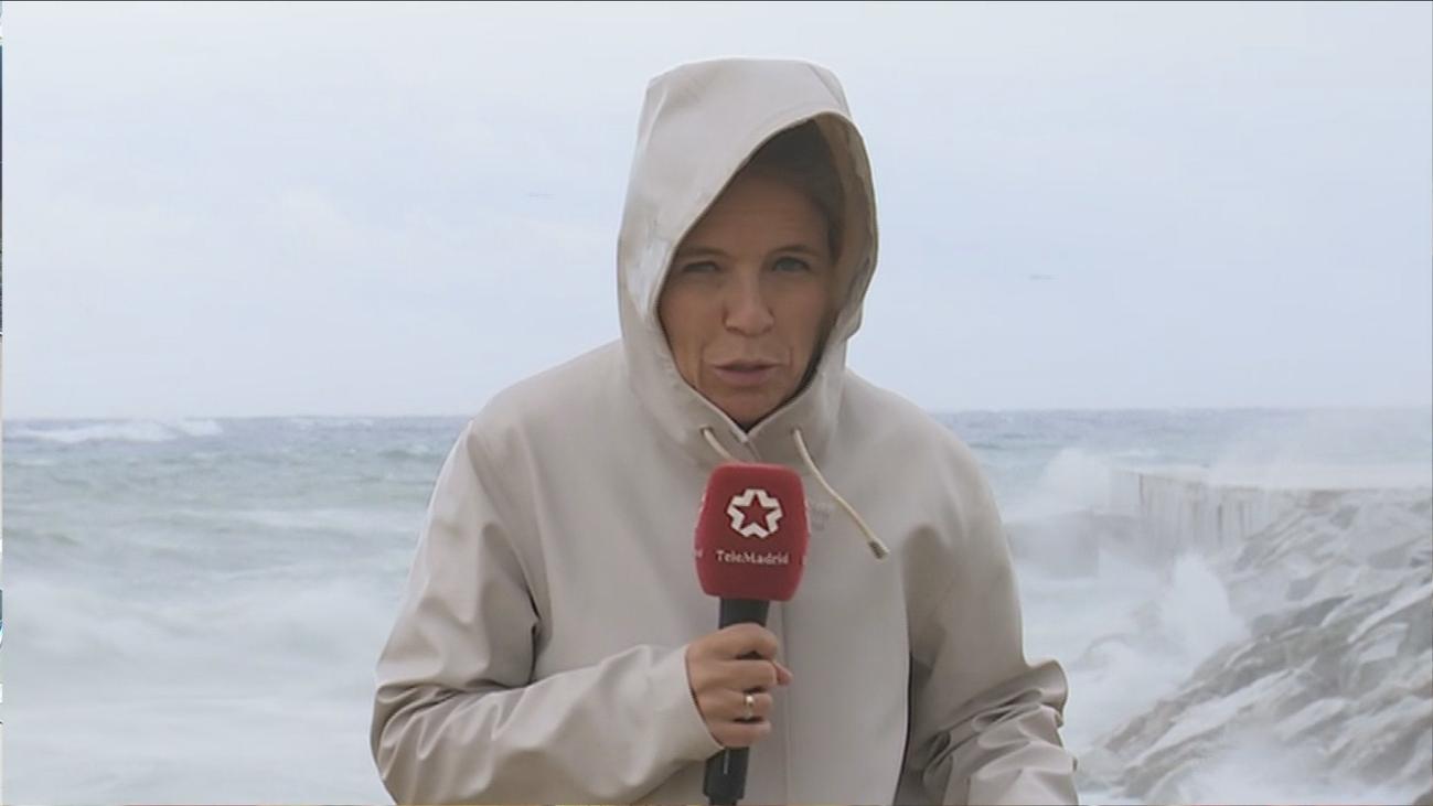 La DANA descarga en Cataluña, Valencia y Baleares lluvias torrenciales con fuertes vientos