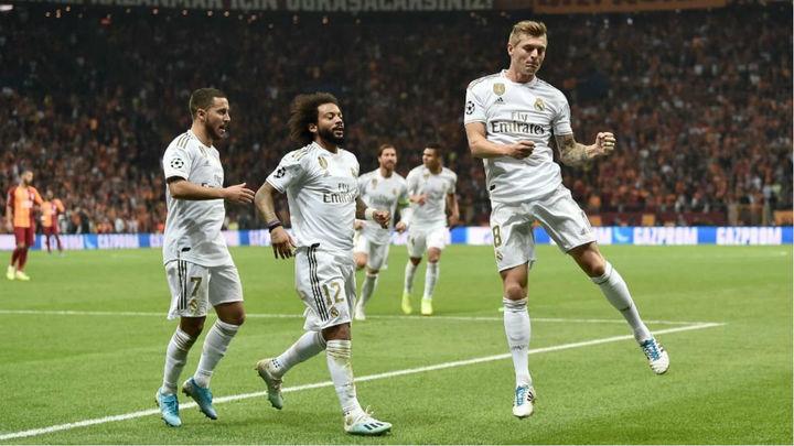 0-1. El Real Madrid se impone al Galatasaray con gol de Kroos