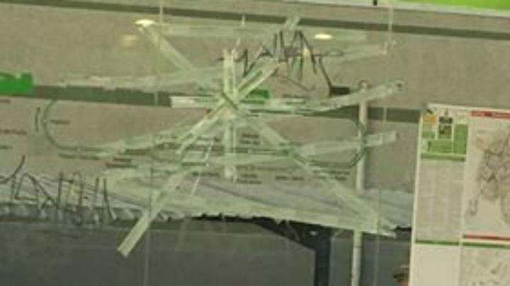 La empresa del tranvía de Parla denuncia varios actos vandálicos durante la huelga