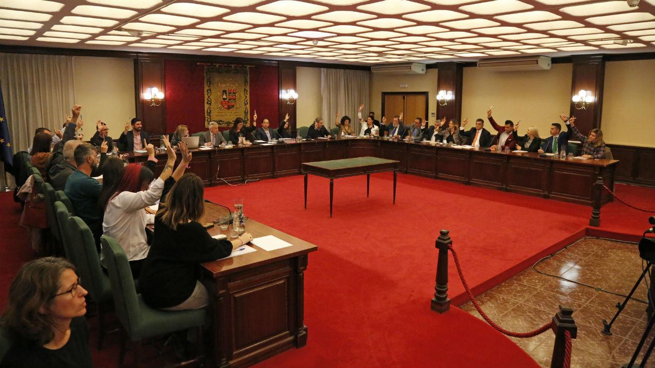 Pleno del Ayuntamiento de Móstoles