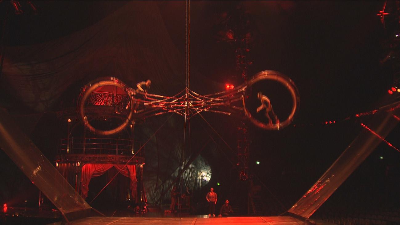 Nos colamos en los ensayos de 'Kooza', lo nuevo de Circo del Sol