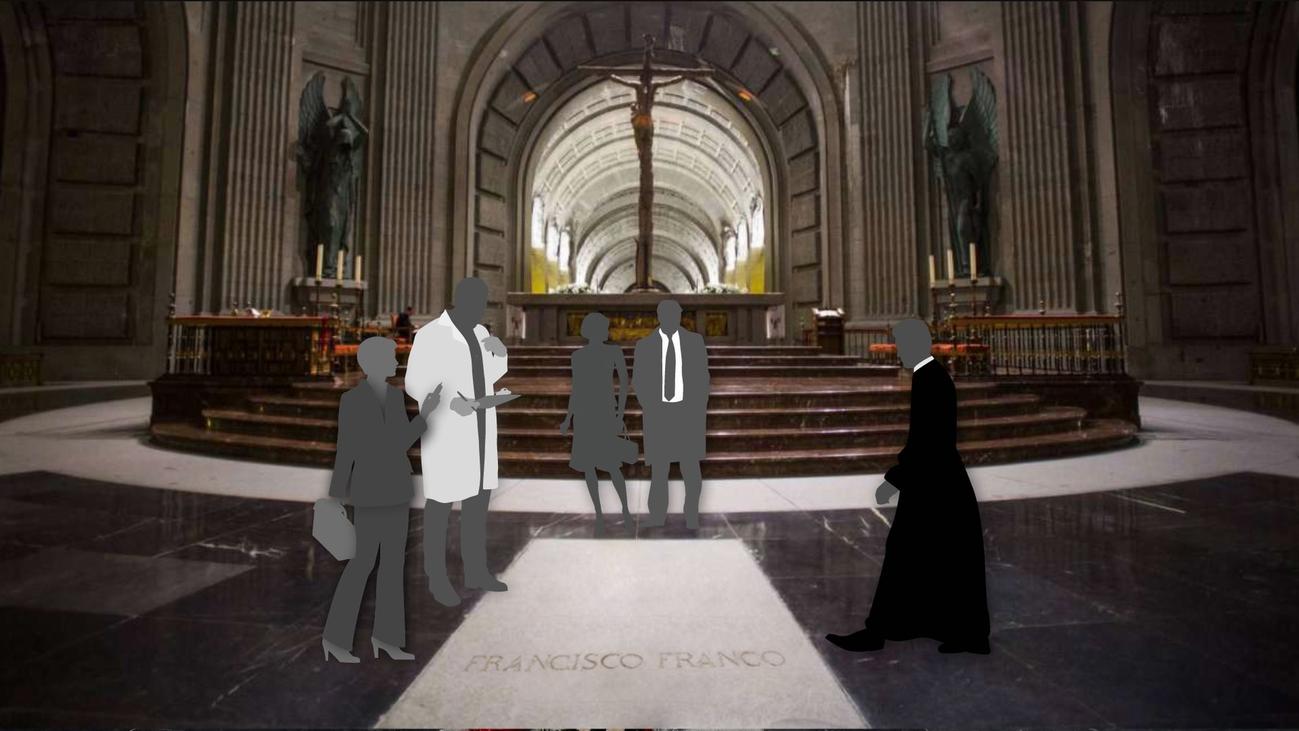 El quién es quién durante la exhumación de Franco