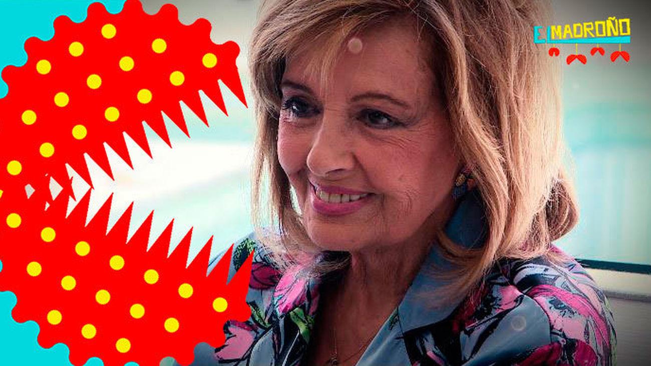 María Teresa Campos se pronuncia sobre la fake news de su muerte
