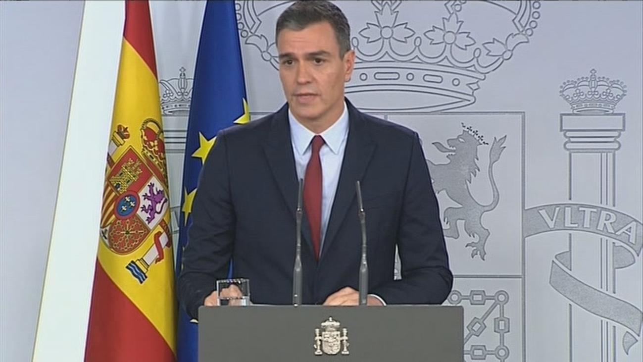 """Pedro Sánchez, sobre la exhumación de Franco: """"Se pone fin a una afrenta moral"""""""