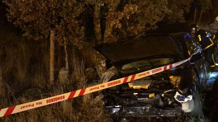 Muere una mujer en un accidente de tráfico en la M-600, en Valdemorillo