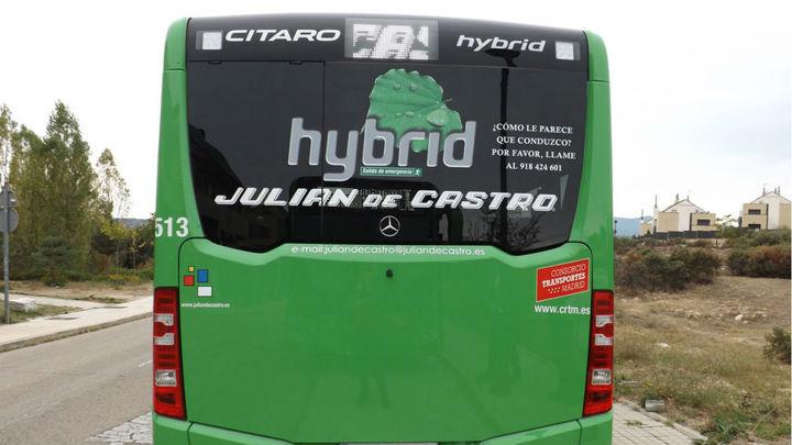 Dos nuevos autobuses híbridos para las líneas urbanas de Torrelodones