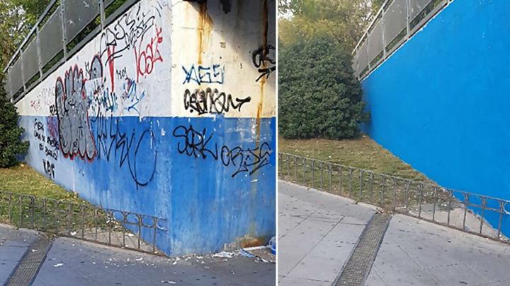 Coslada declara la guerra a los grafitis