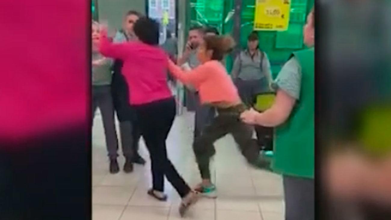 Bronca en un supermercado de Cataluña cuando descubren un robo