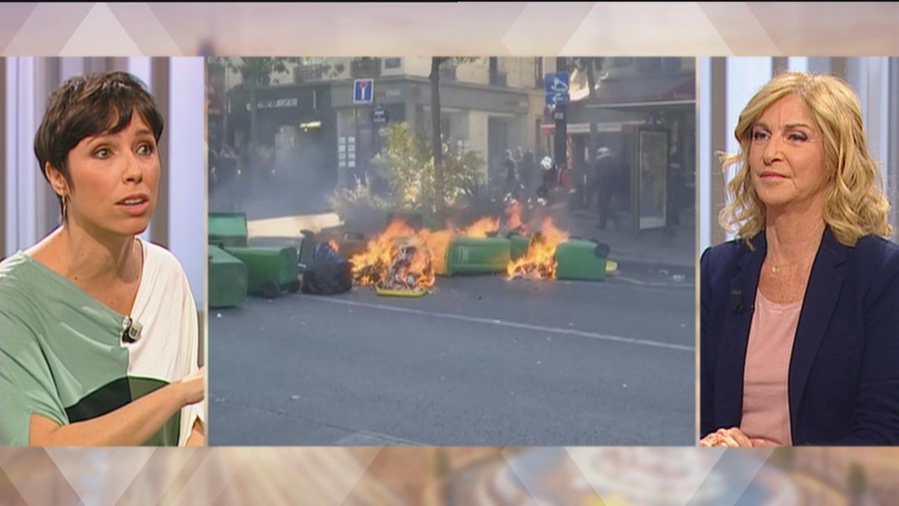 ¿Habría que endurecer las respuestas policiales contra las revueltas callejeras?