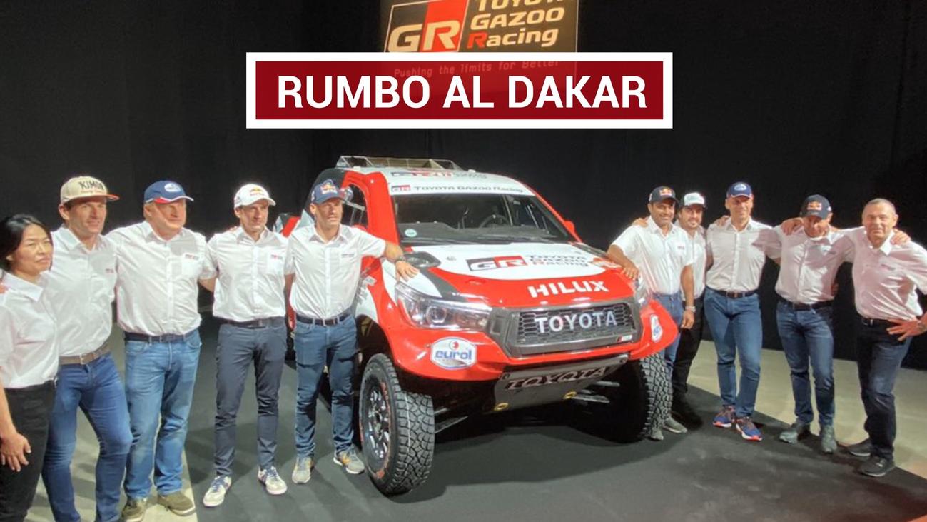 """Alonso: """"Llegar al Dakar y pensar en ganar no sería muy normal"""""""