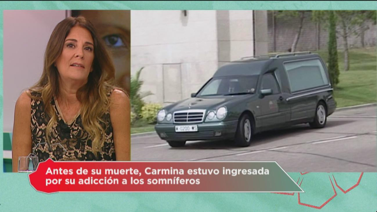 """Ángela Portero: """"Carmina estuvo muy sola el último mes de su vida"""""""