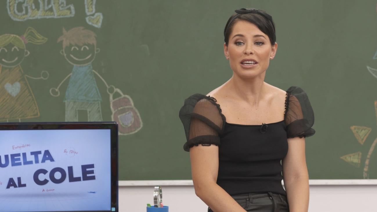 La cantante Soraya Arnelas vuelve al cole